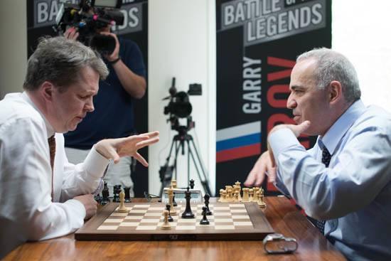 Kasparov'dan Muhteşem Dönüş!