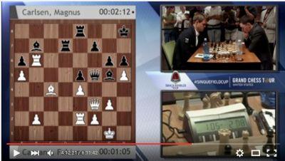 Caruana – Carlsen'de Yüksek Gerilim!
