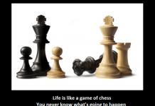 satranc gibidir