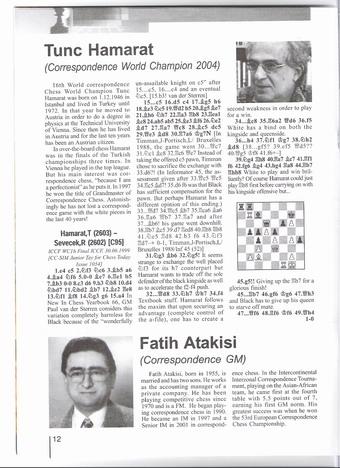 Balkan Chess Dergisi ve Balkan Satranç Birliği