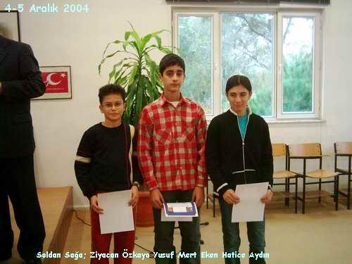 2005 Yılı Antalya Birinciliği Ön Eleme Satranç Turnuvası Sonuçlandı