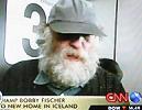 Fischer sonunda İzlanda'da