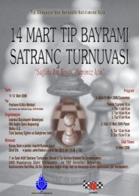 14 Mart Tıp Bayramı Satranç Turnuvası