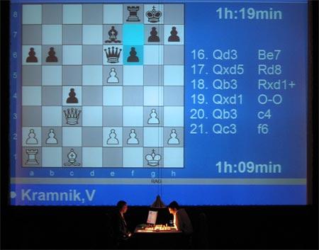 Kramnik – Fritz: üçüncü oyun analizi