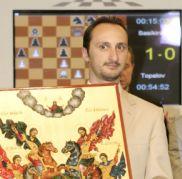 Mtel Ustalar'ı Topalov kazandı