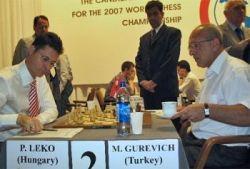Dünya Şampiyonluğu Aday Maçlarında Gurevich  Leko'ya elendi