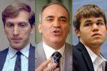 Fischer, Kasparov  ve Carlsen