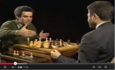 Kasparov kaç hamle ilerisini görüyor?