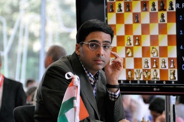 Bilbao'da Anand 1.d4 ile kazandı
