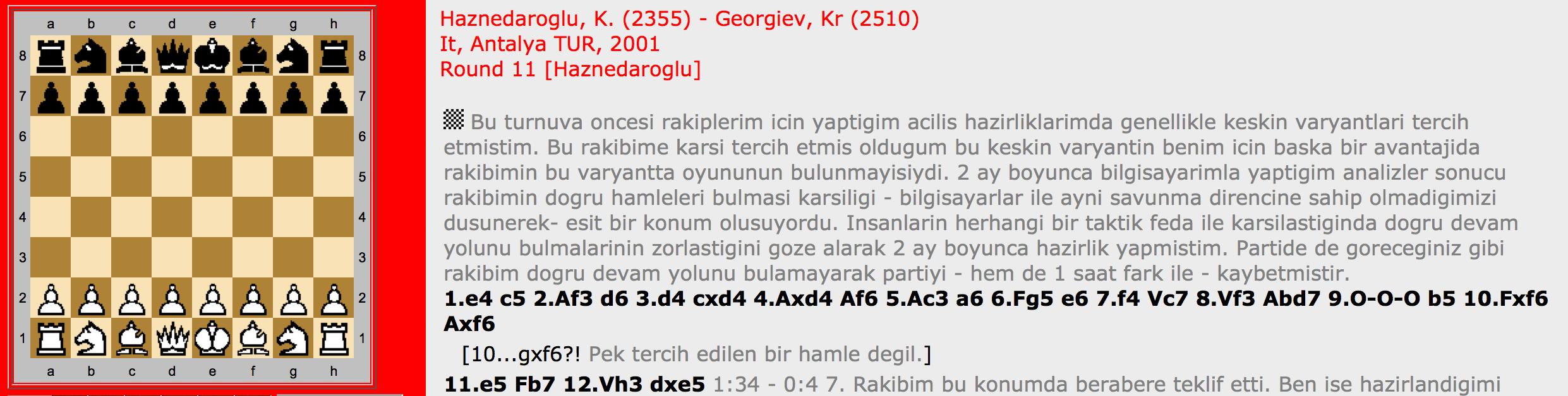 Haznedaroğlu – Georgiev