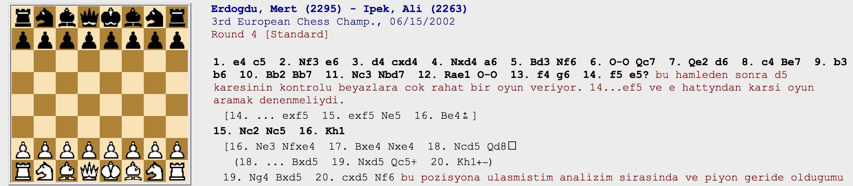 Erdoğdu – İpek 2002