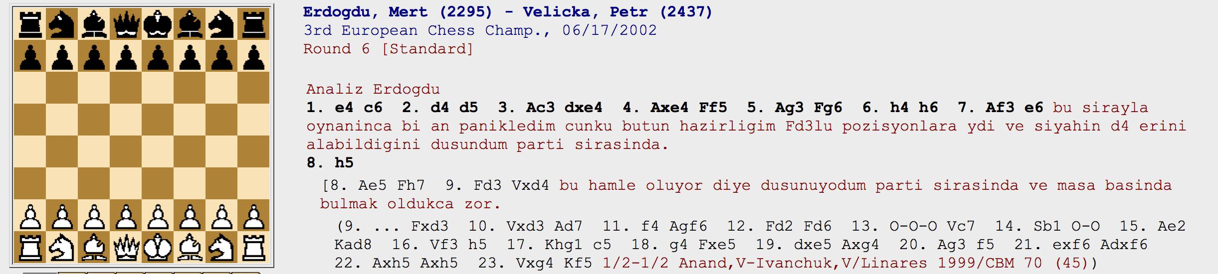 Erdoğdu – Velicka 2002