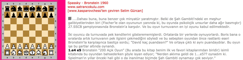 Spassky – Bronstein