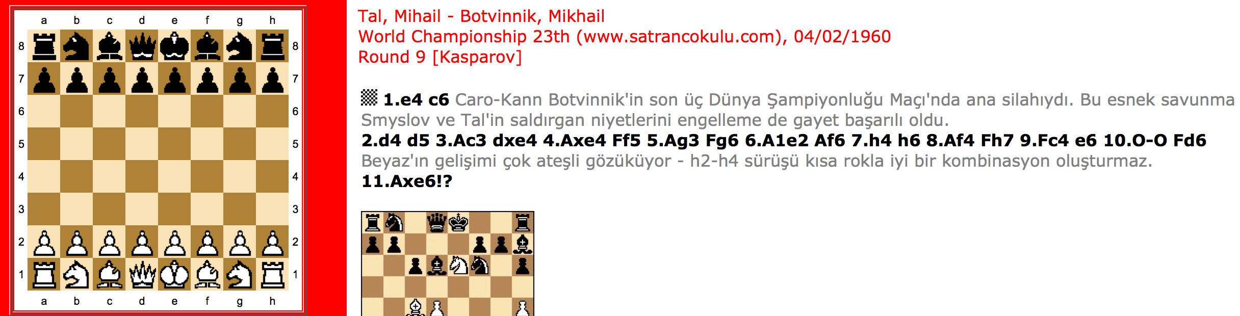 Tal – Botvinnik