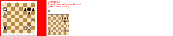 Kale Oyunsonu – 2