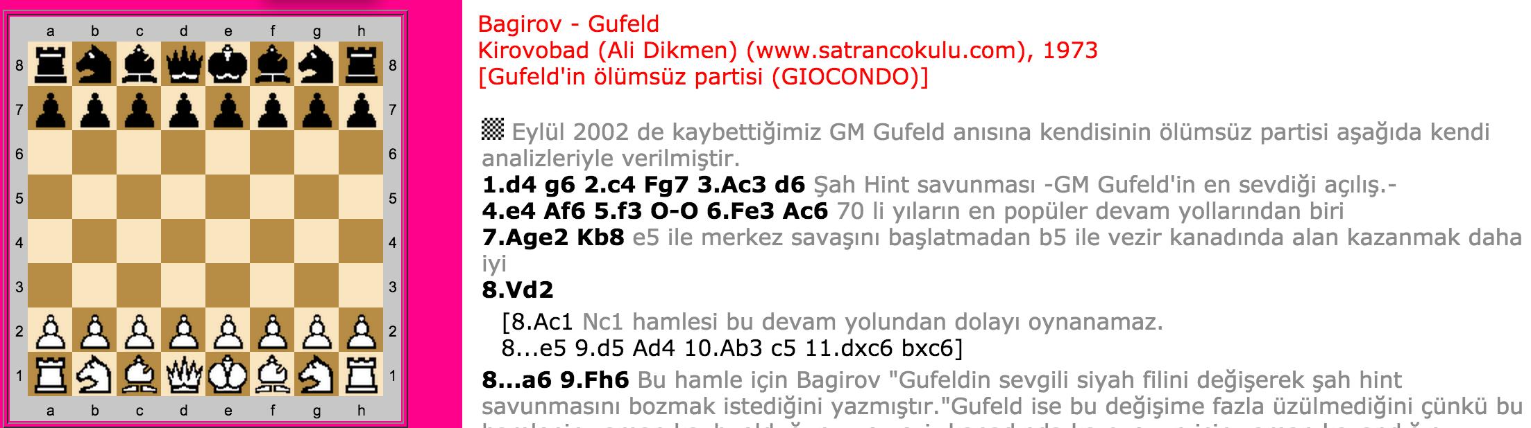 Bagirov – Gufeld