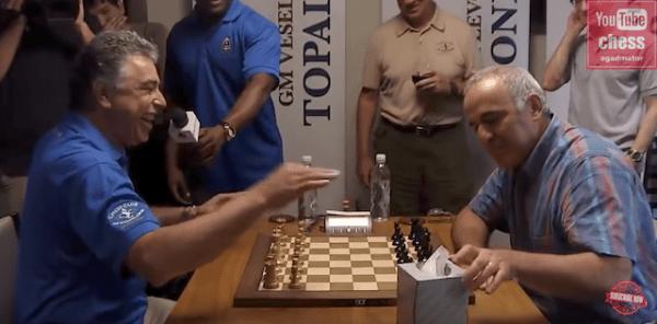 Kasparov Babalamalı Satranç Oynarsa