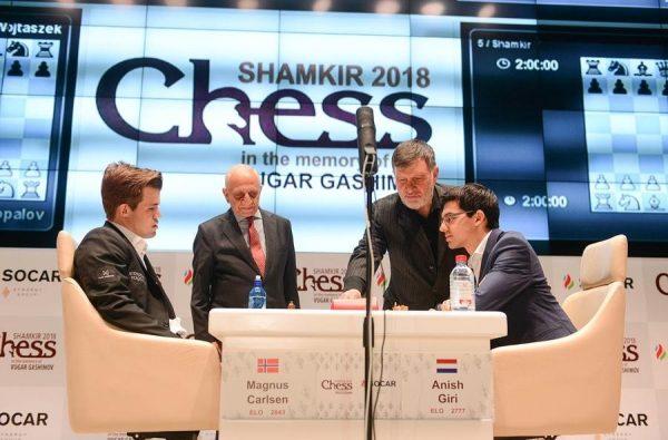 Carlsen Shamkir'de Kral. Şimdilik..