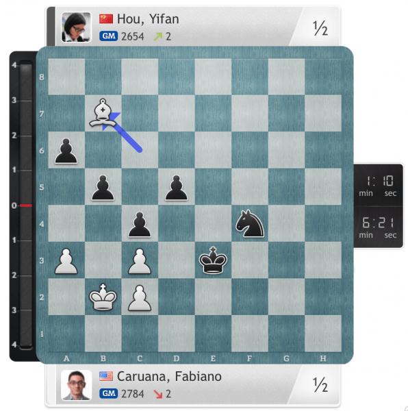 Grenke'de ucuz kurtaran bu sefer Caruana!