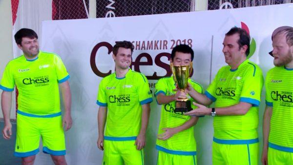 Shamkir Turnuvasında Tüm Golleri Carlsen Attı!