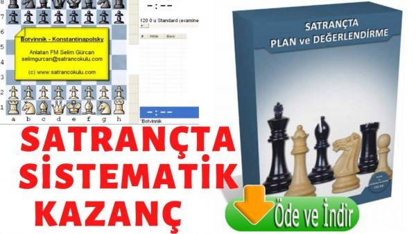Mikhail Botvinnik Böyle Kazanıyor